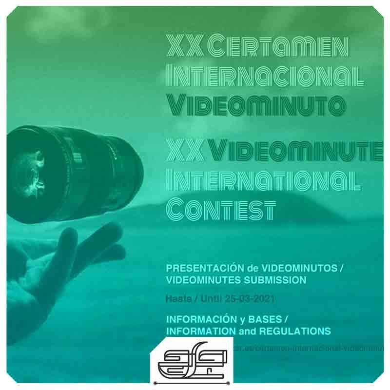 جارچی-؛-فراخوان 20مین مسابقه بین المللی فیلم یک دقیقه ای ویدیو مینت 2021 (XX Videominute International Contest)